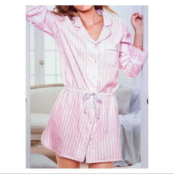 346599bb2b38e Victoria's Secret Button Down Sleepshirt